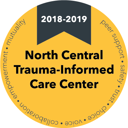 North Central Trauma-Informed Care Center Seal
