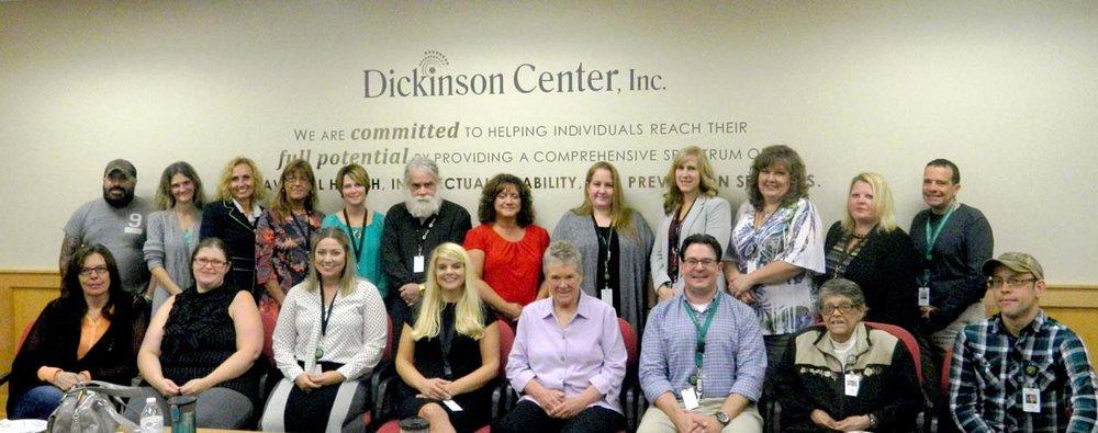 Pat Deegan Visit Group Photo