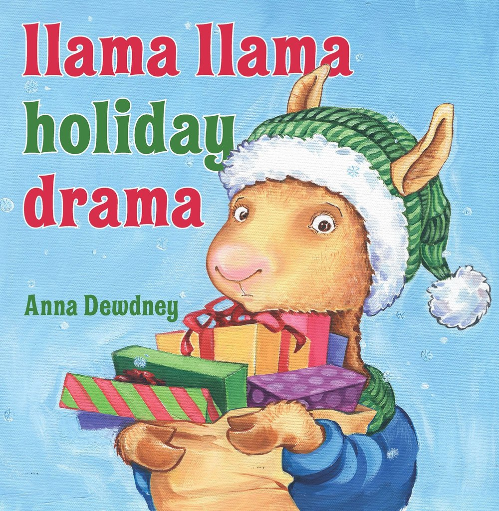 Book cover art for Llama Llama Holiday drama written by Anna Dewdney