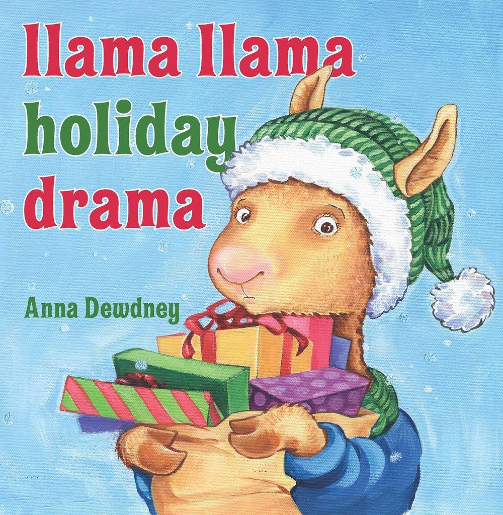 Book cover art for Llama Llama Holiday drama written by Anna Dewdney