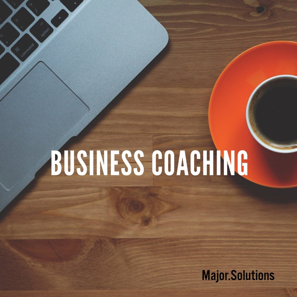 Major Solutions Business Coach mentoring by the hour