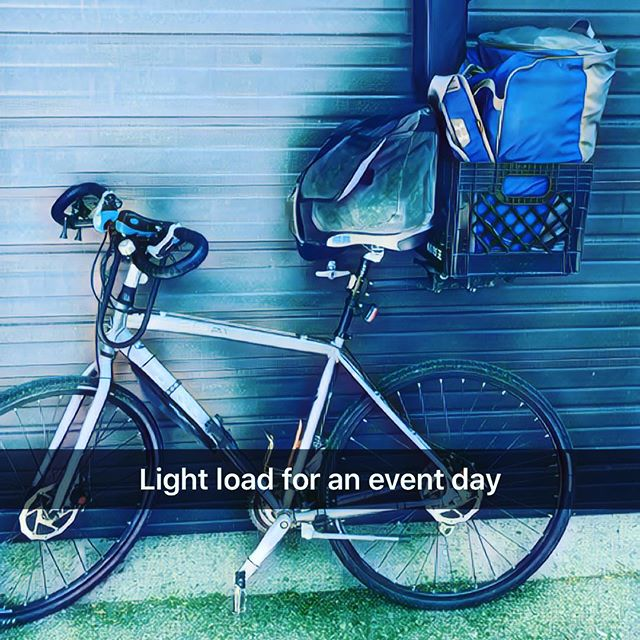 I am heading to Startup Drinks tonight and I am packing a little light! #TORONTO #cycle #cycleto #bike #biketo #bikelife #cyclelife #cyclestyle #startupcoach #startuplife #startupdrinks #banner #bags #packed #loaded #the6ix #the6
