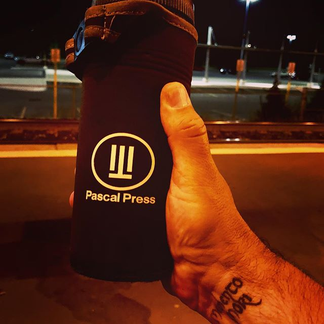 Waiting for the 5am #train ready for #Friday #morning Growth Hackers with the help of my @pascalpresscoffee the #perfect coffee made portable  #toronto #startups #growthhackers #coffee #cafeine #marketing #scaling #growth #the6ix #the6 #entrepreneur #entrepreneurlife #hustlehard #hustle #grind #startup #startuplife #startupcoach