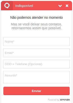 Formulário de Recados Offline