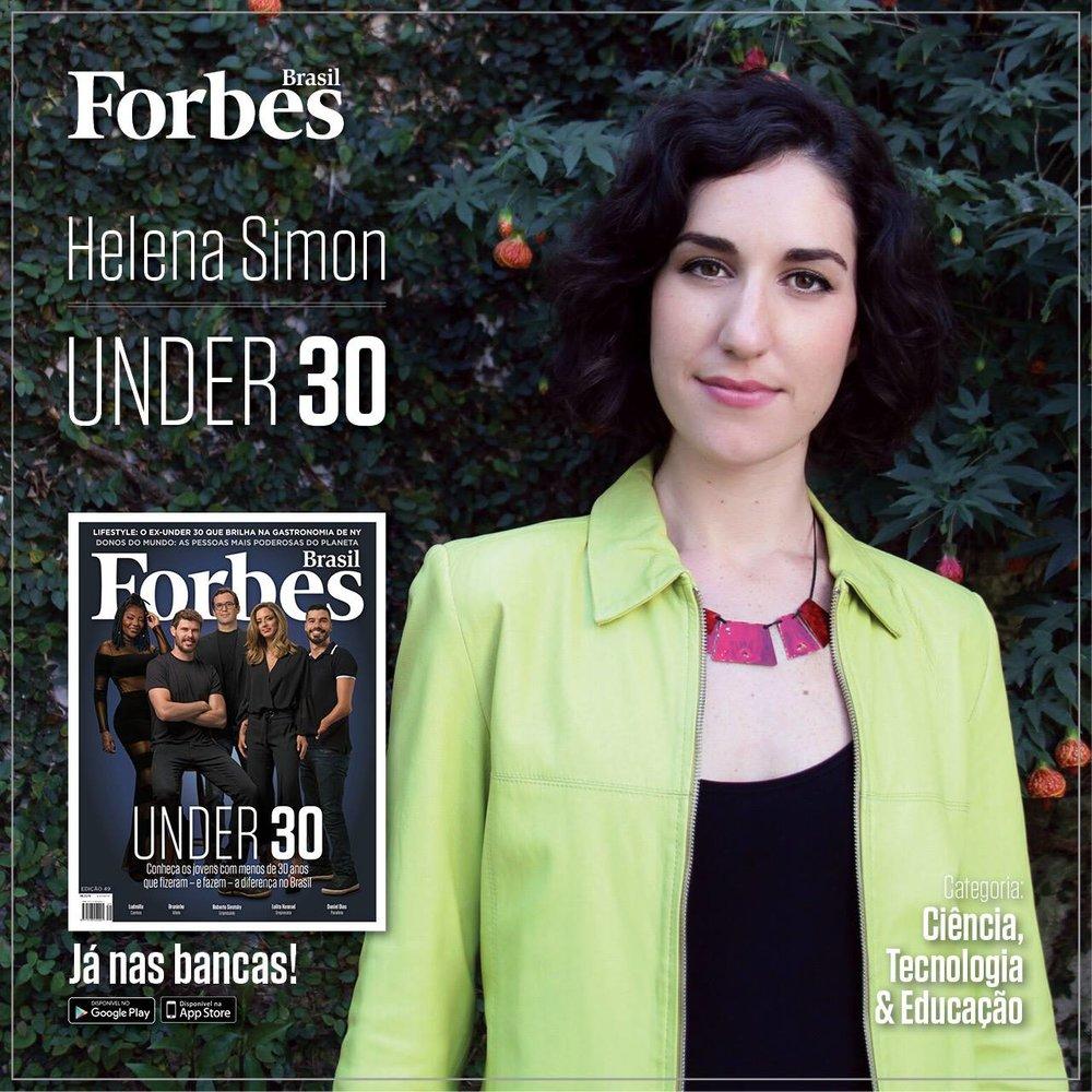 Helena Simon na Forbes