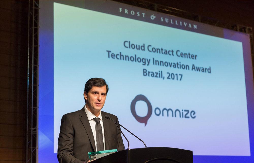 Discurso de agradecimento do CEO Fabrício Buzzatti