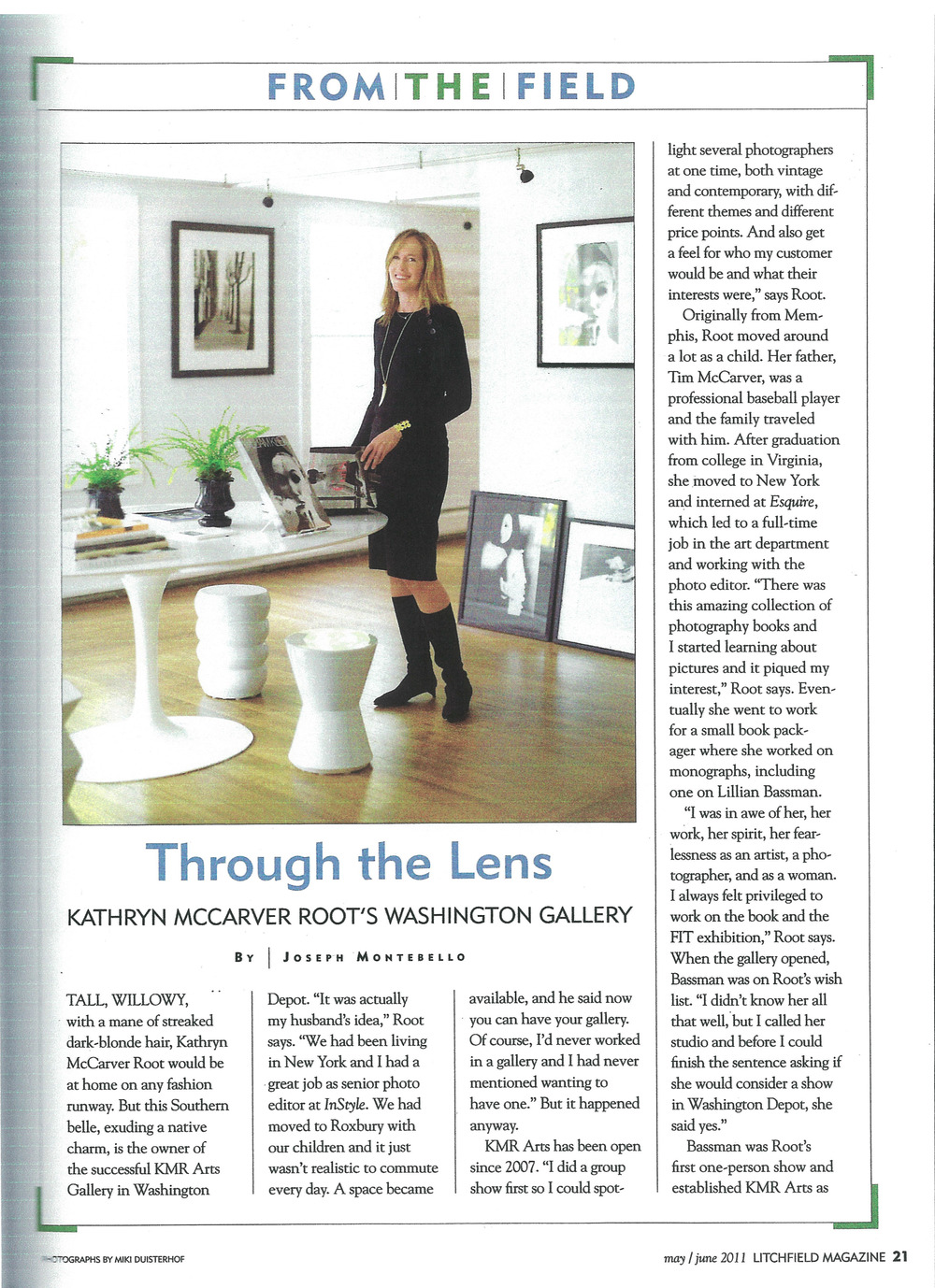 Through The Lens, pg 1. May_June 2011. Litchfield Magazine. pdf.jpg