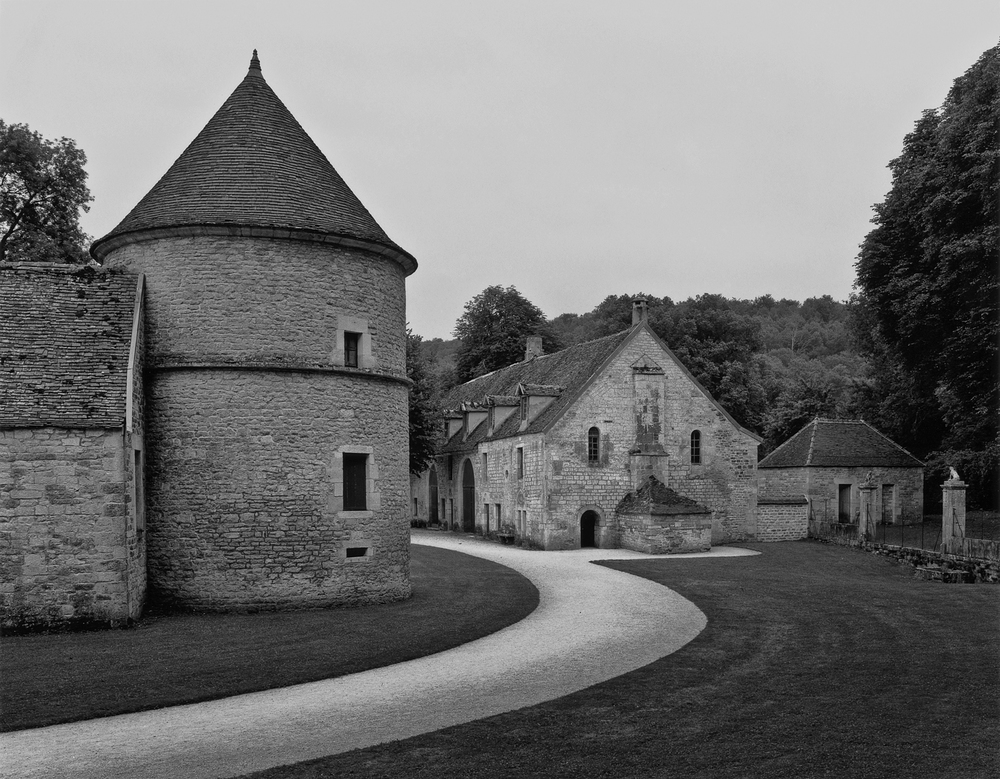 Dovecote and Bakehouse, Fontenay, 1986