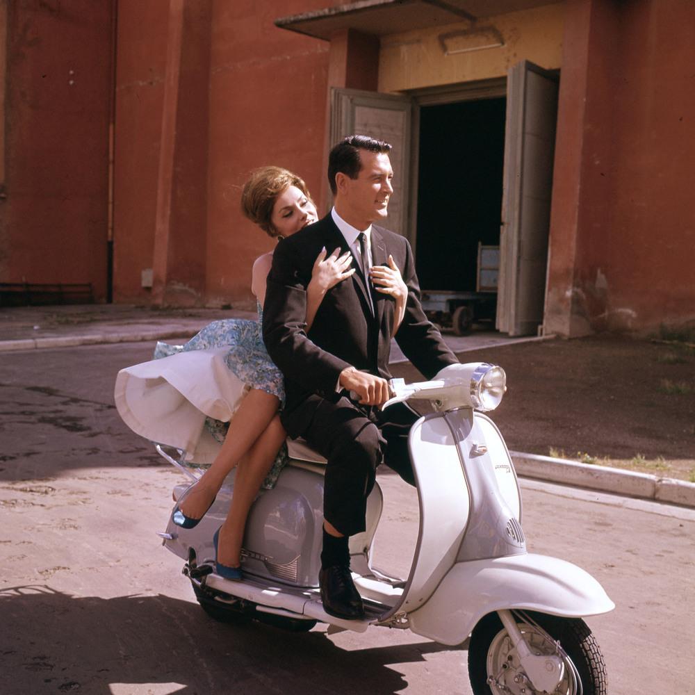 Rock Hudson and Gina Lollobrigida, Come September, 1960