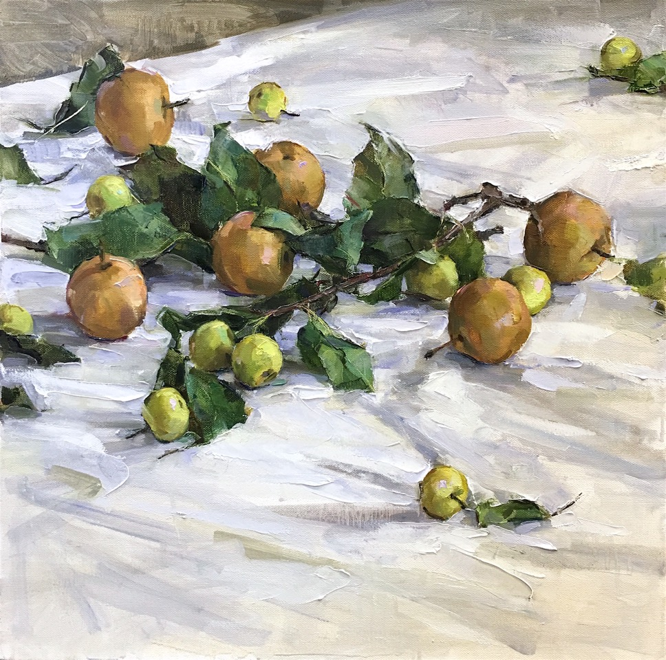 Apples Pears20x20.jpeg
