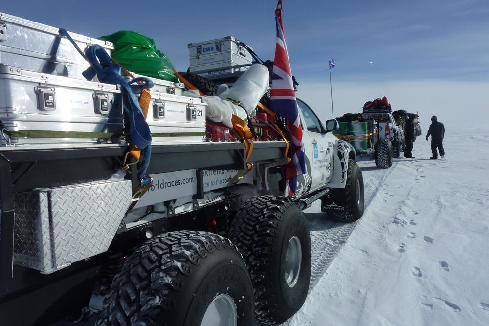 Wettlauf Züm Südpol
