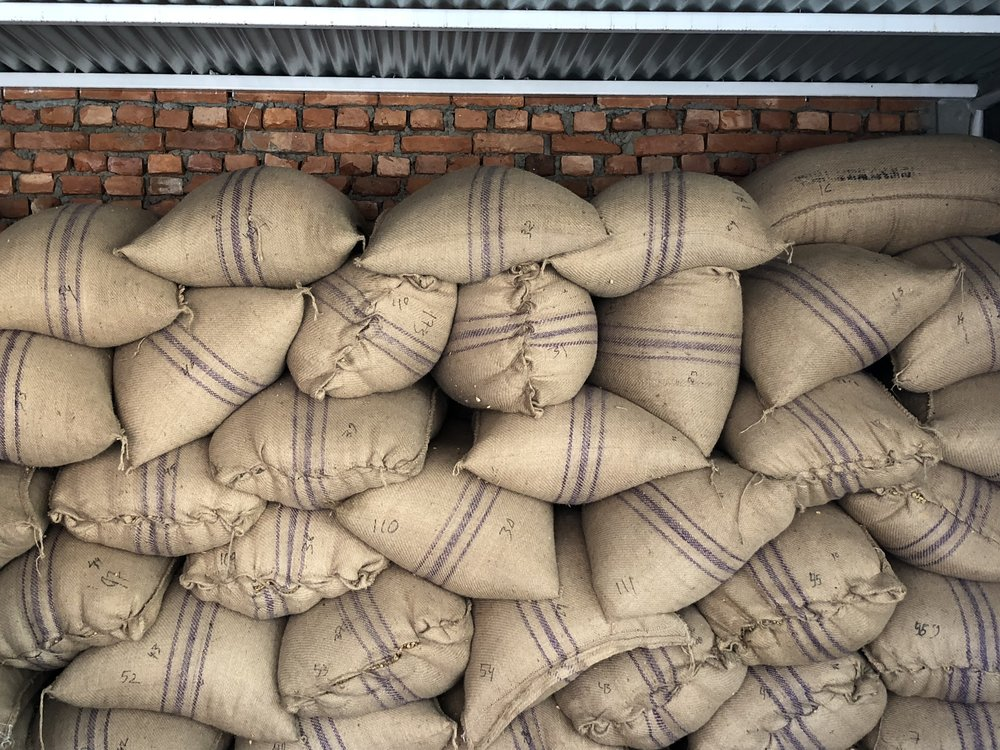 The Parchment arrives in Kathmandu where it is bought and then sold by Nuwa Coffee Estate.