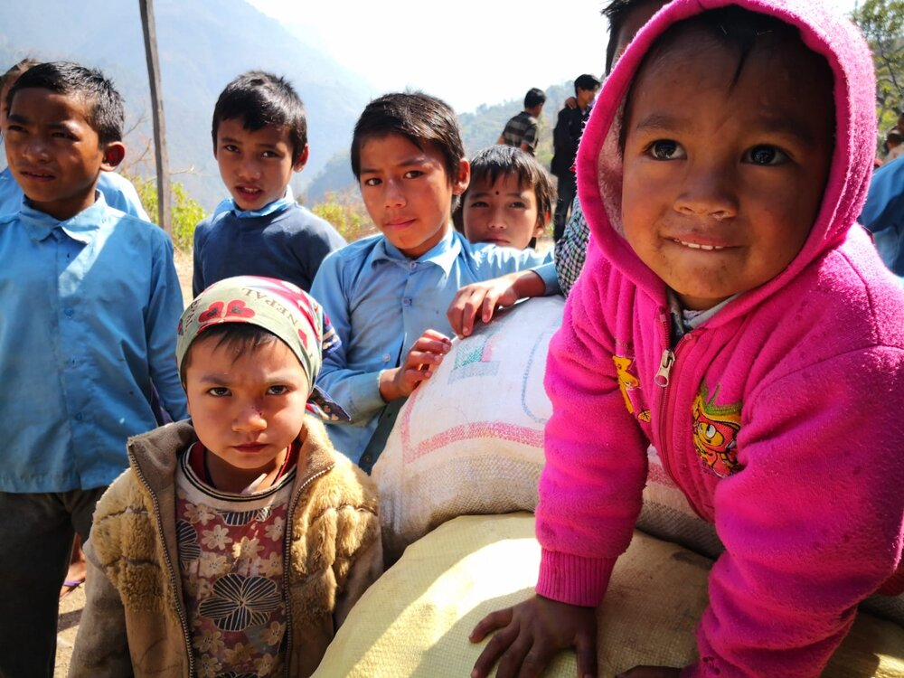 The Glacier Trust  100% of your donation will be spent in Nepal.   Donate