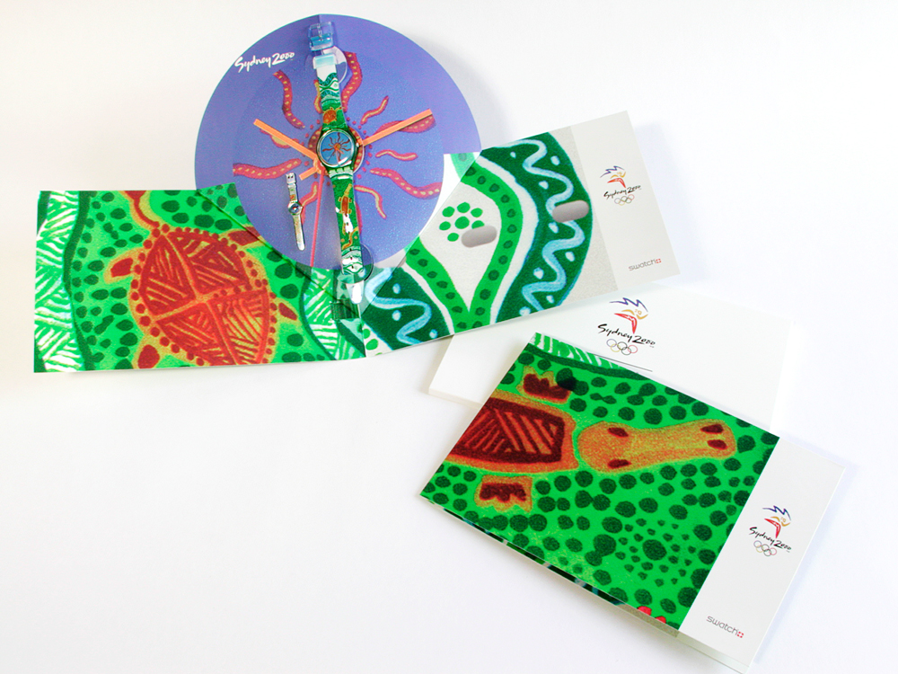 NOVA Olympic Watch Special Packaging