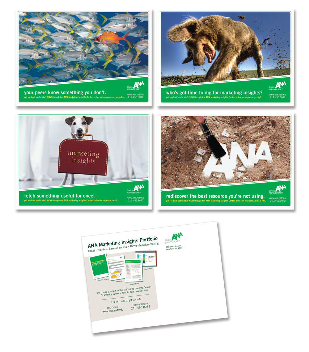 ANA Postcard Campaign