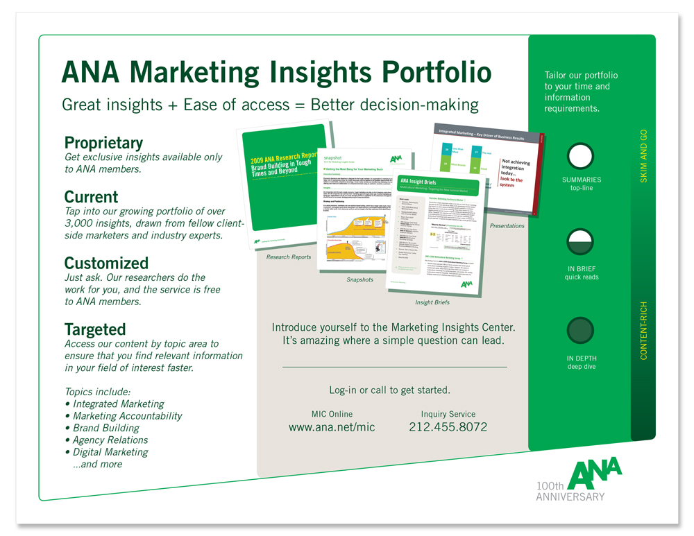 ANA One Sheet (back)