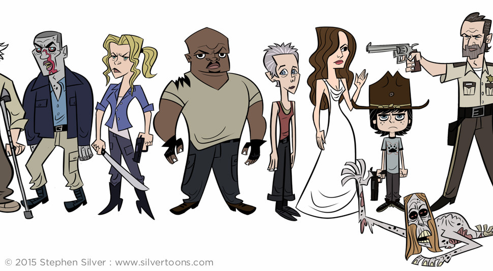 Character Design Course London : Stephen silver