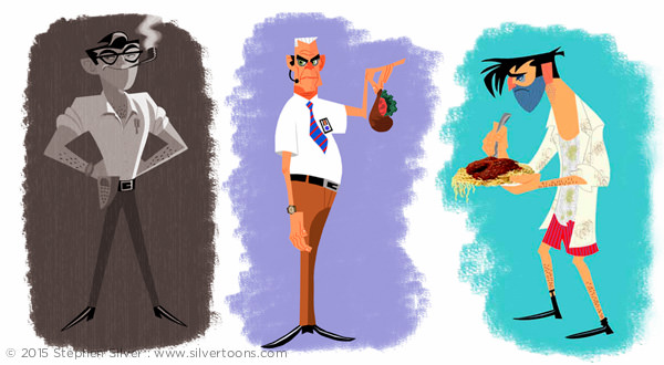 Stephen Silver Character Design Portfolio : Portfolio index stephen silver —