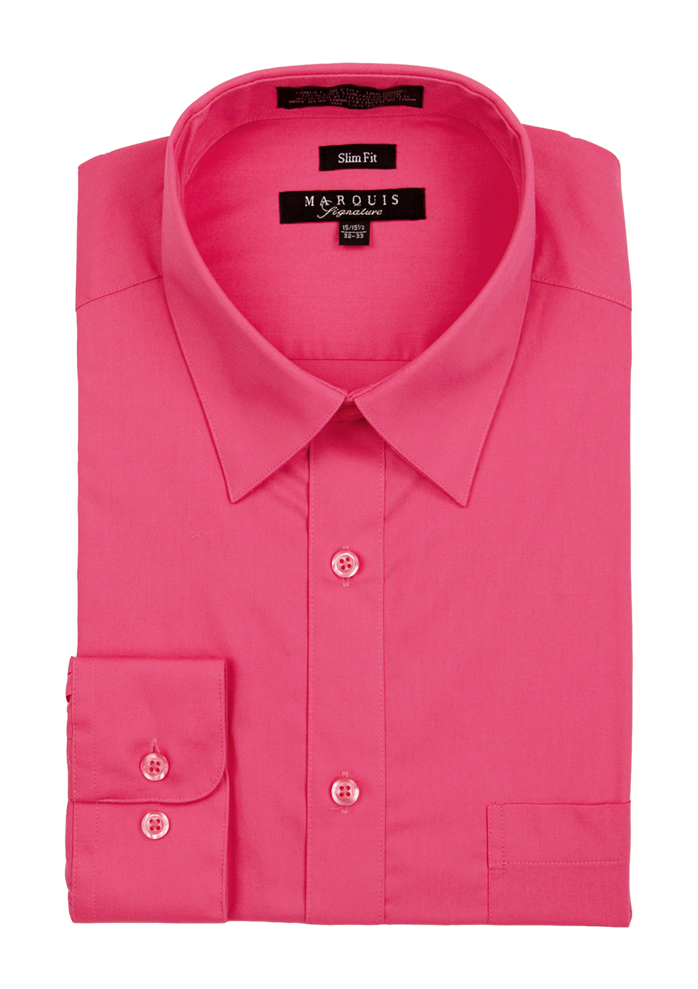 Basic Slim Fit Dress Shirts M A R Q U I S