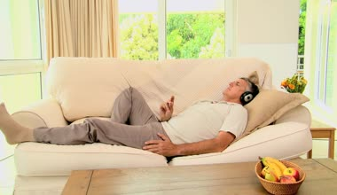 Listening to soothing music can help Vata-type anxiety