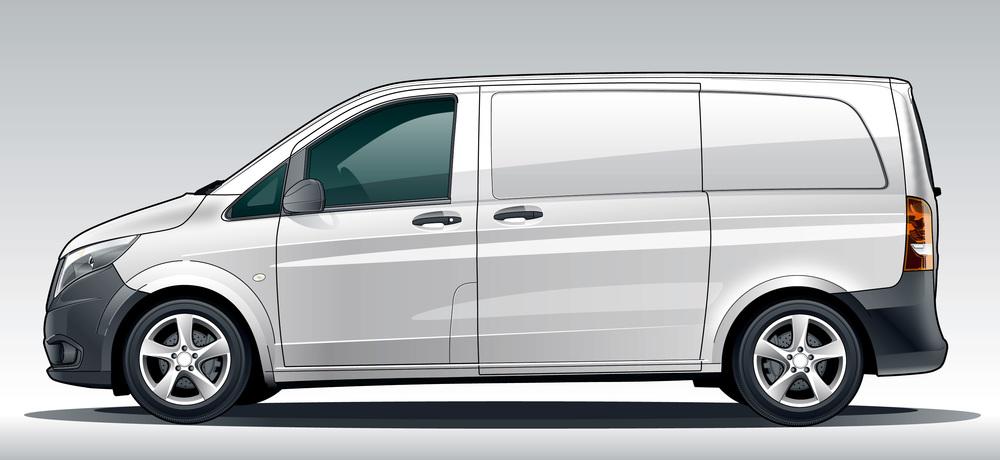 Mercedes Benz, Transportation, vector illustration