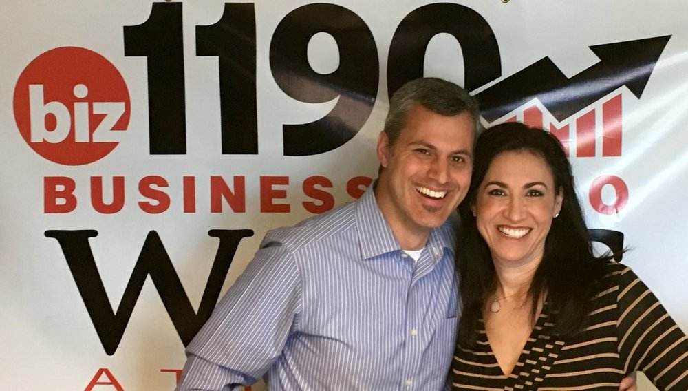 Joe Koufman, AgencySparks CEO and Dana Barrett, Host, The Dana Barrett Show