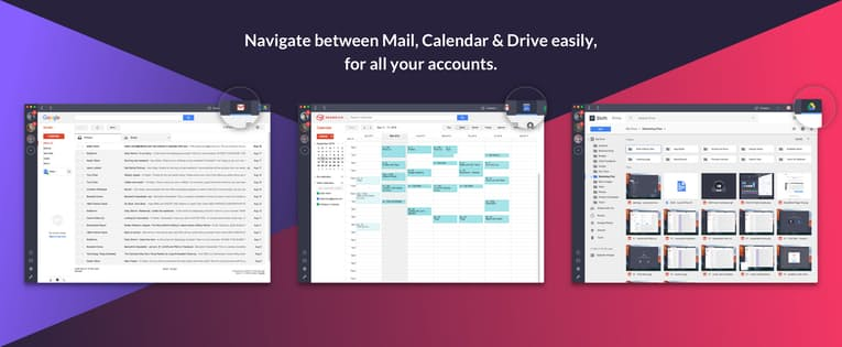 Shift organizes multiple gmail accounts - Marketers Toolbox