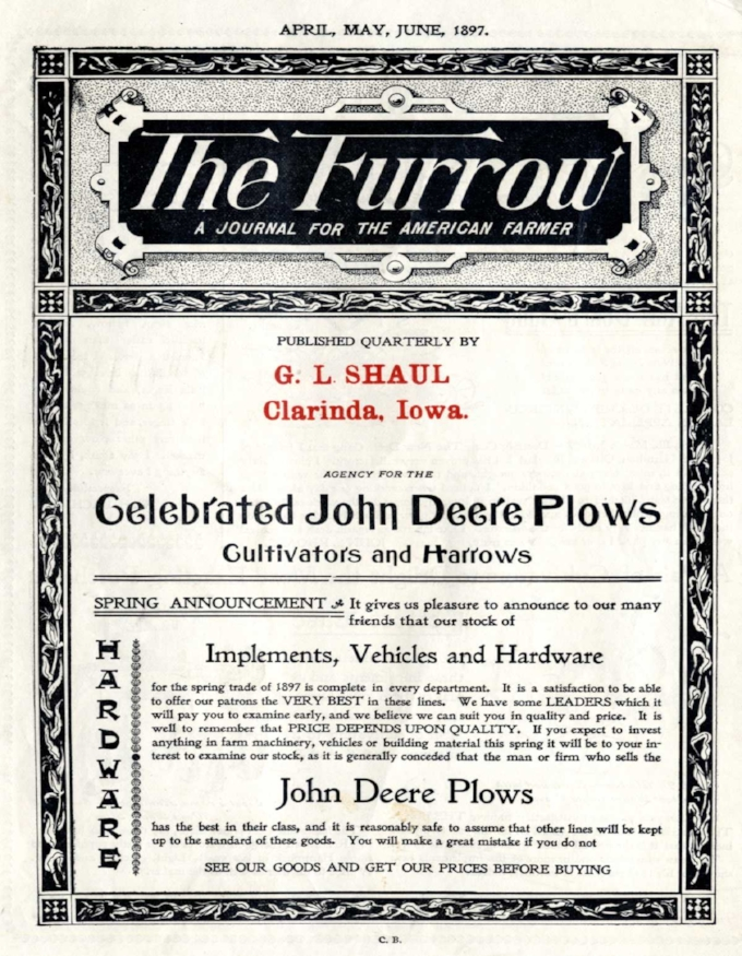 The Furrow - 1897 - John Deere
