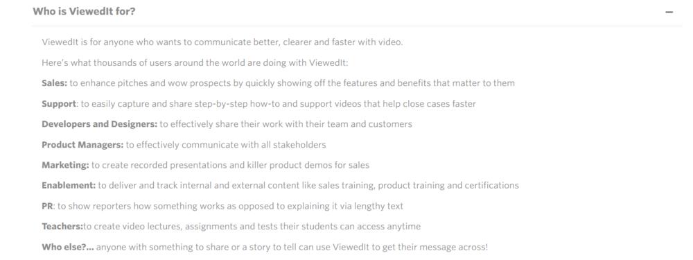 Viewedit faq - marketerstoolbox
