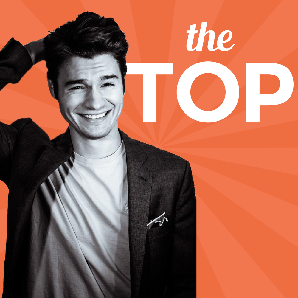 "Nathan Latka has one of the most well known business podcasts, ""The Top"" about successful start-ups and entrepreneurs."