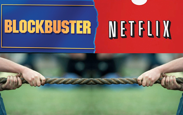 Netflix had a competitive advantage over Blockbuster by hitting an untapped market and coming up with innovative ideas to reach them.