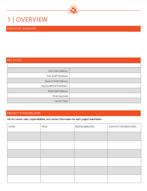 Perfect Marketing Brief Template Paid AgencySparks - Marketing brief template