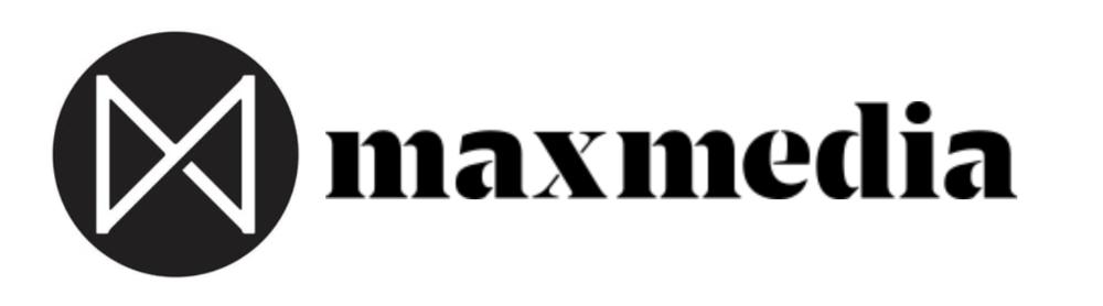 maxmedia logo - experience design marketing agency