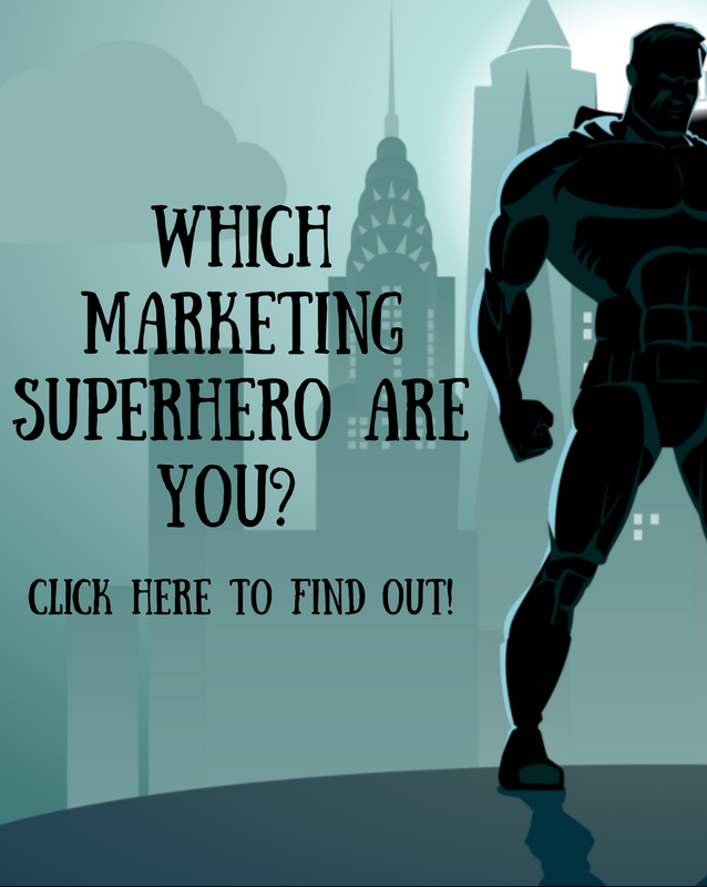 Which Marketing Superhero are you Quiz!