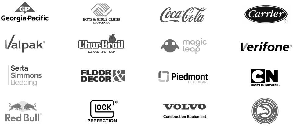 * All of these brands hired a marketing agency because of an AgencySparks introduction.