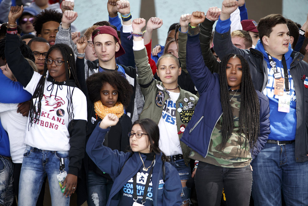 March for Our Lives is a movement against gun violence run by Generation Z. They see the change they want for the world and make it happen.