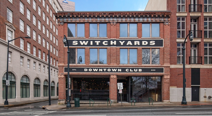 Switchyards Downtown Club located in Atlanta.  Picture Credit - CHOATE Construction
