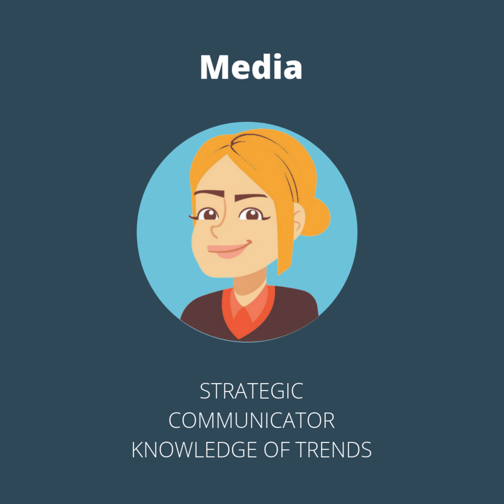The media team in a marketing agency is strategic, understands the industry, and communicates with the client and the creative team.