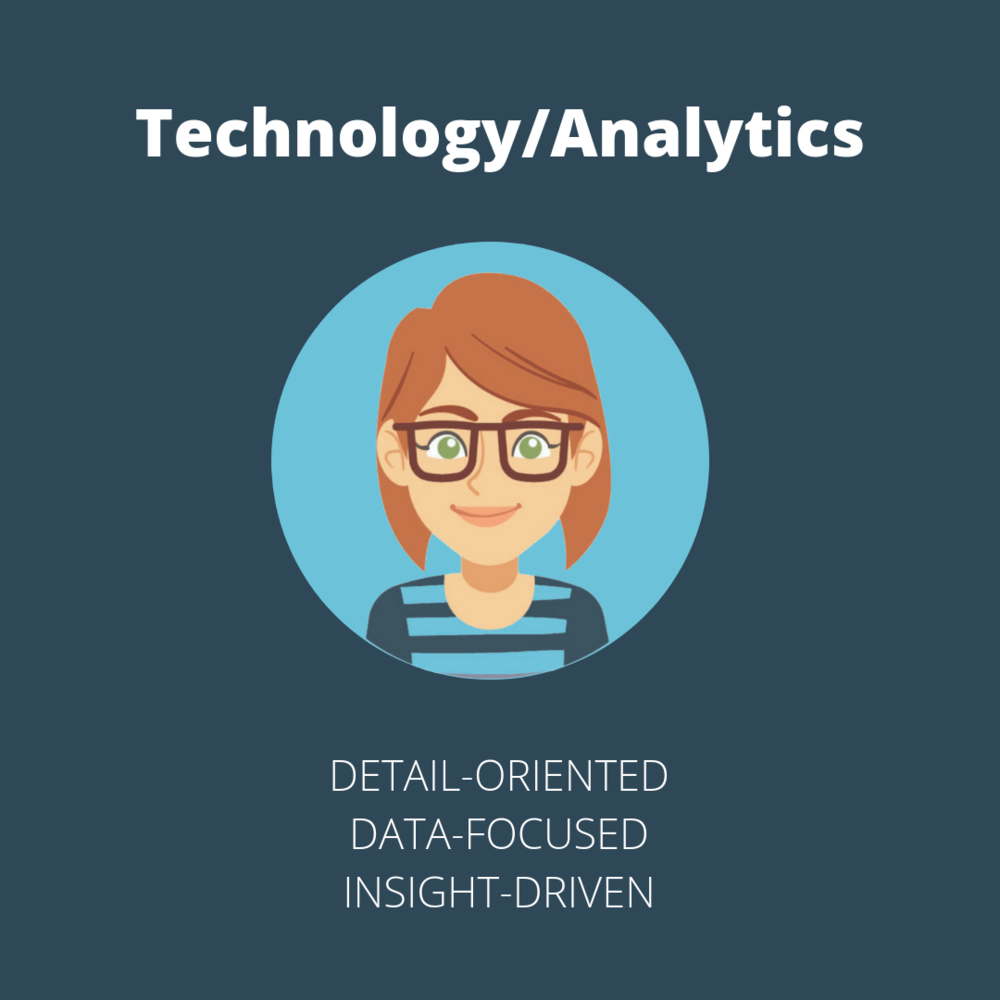 Technological and analytical roles in a marketing agency are very numbers focused and data-driven.