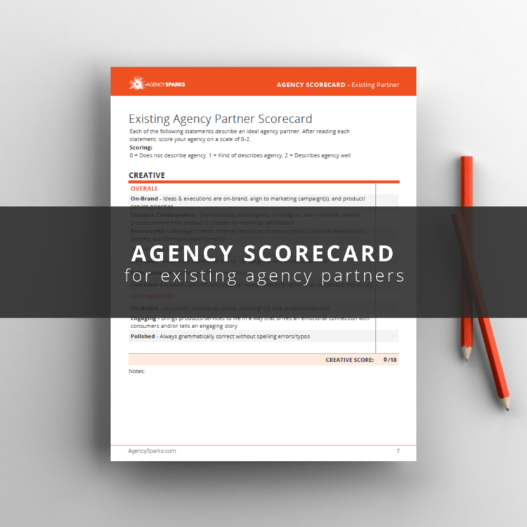 Evaluate your advertising agency's performance with this free agency assessment tool