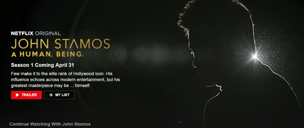Netflix zoned in on everything john Stamos in 2017 for April Fool's Day.