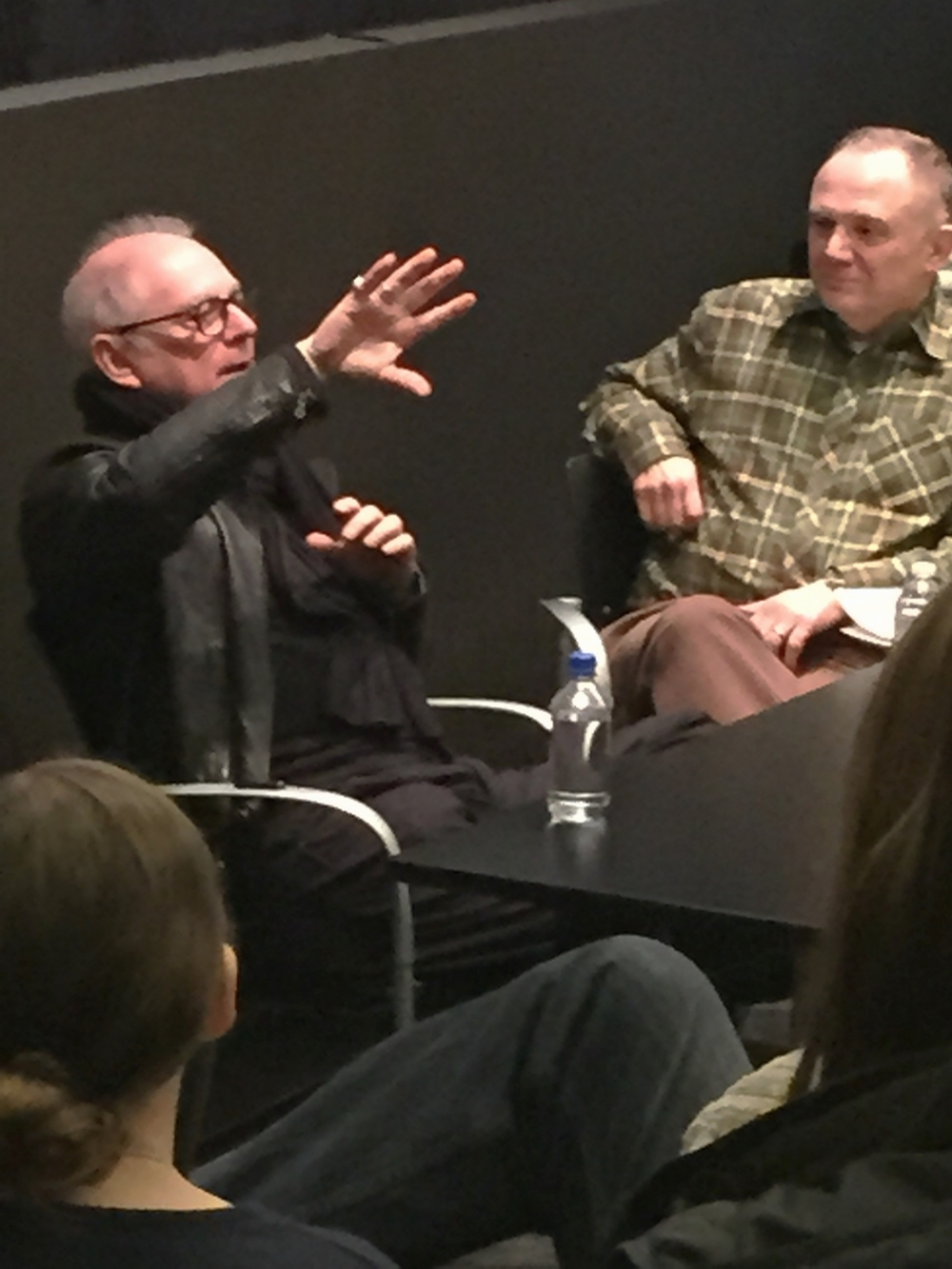 Barry Levinson and Joe Pichirallo