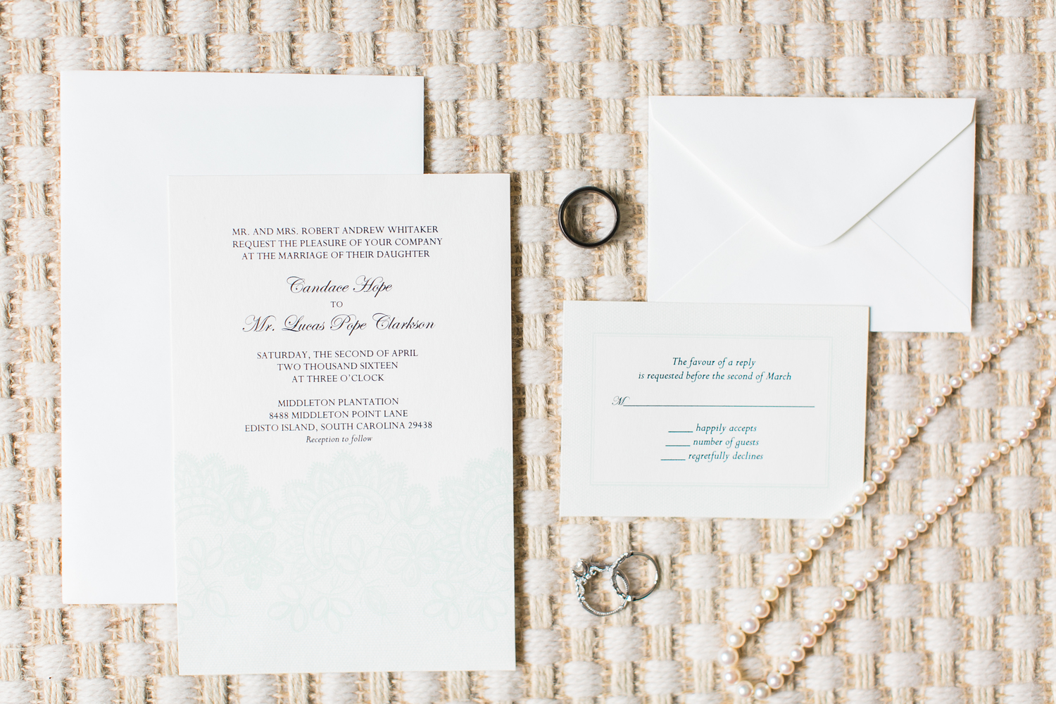 Lucas + Candace | Edisto Island Wedding featured on A Low Country ...