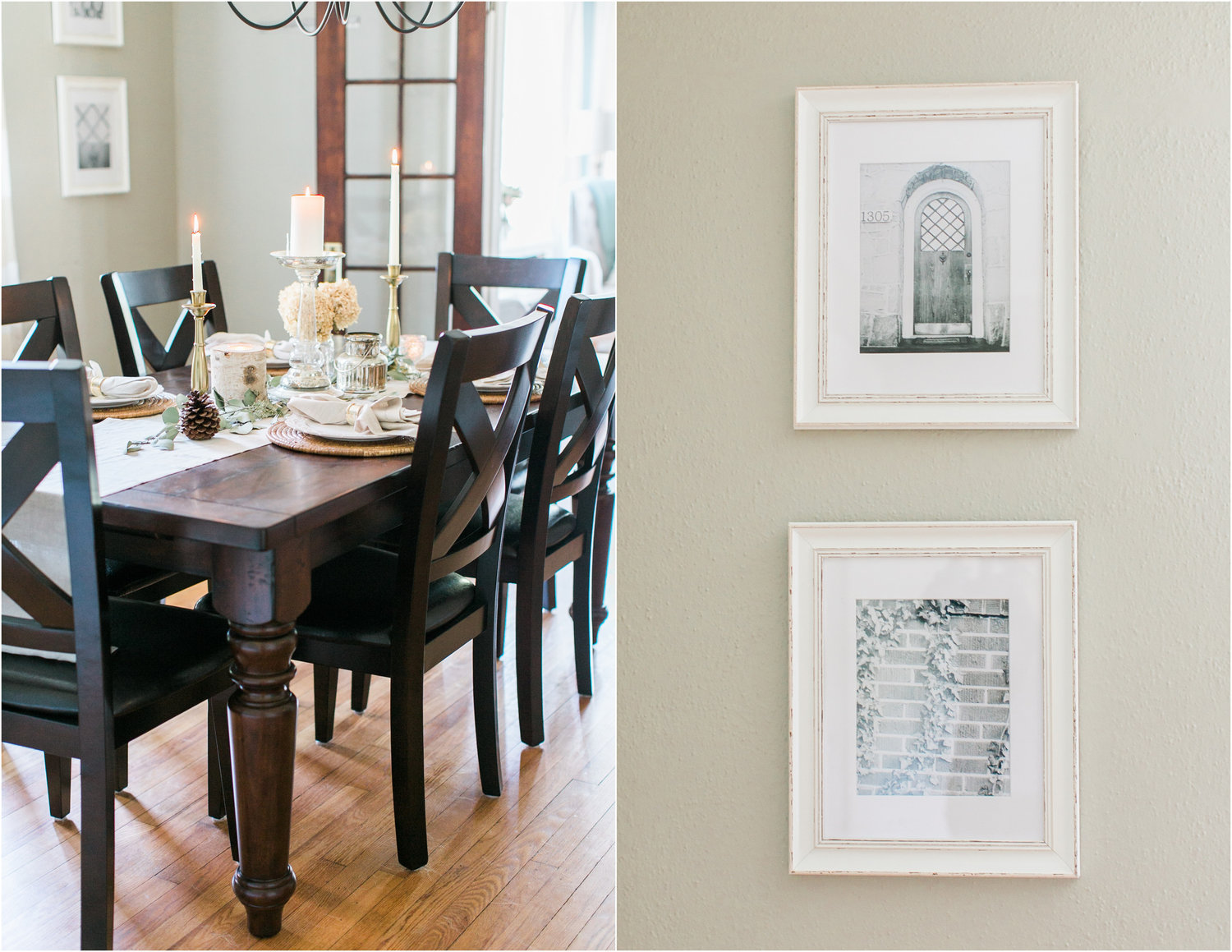 Kitchen Curtains Pottery Barn The Nichols Cottage Dining Room Jessi Nichols Photography