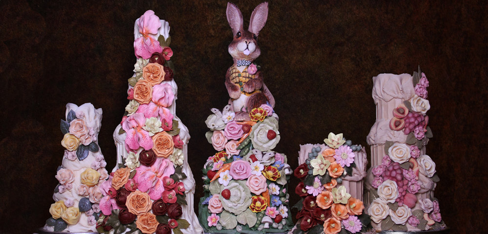 One of the displays at Choccywoccydoohah - photo credit - www.choccywoccydoodah.com