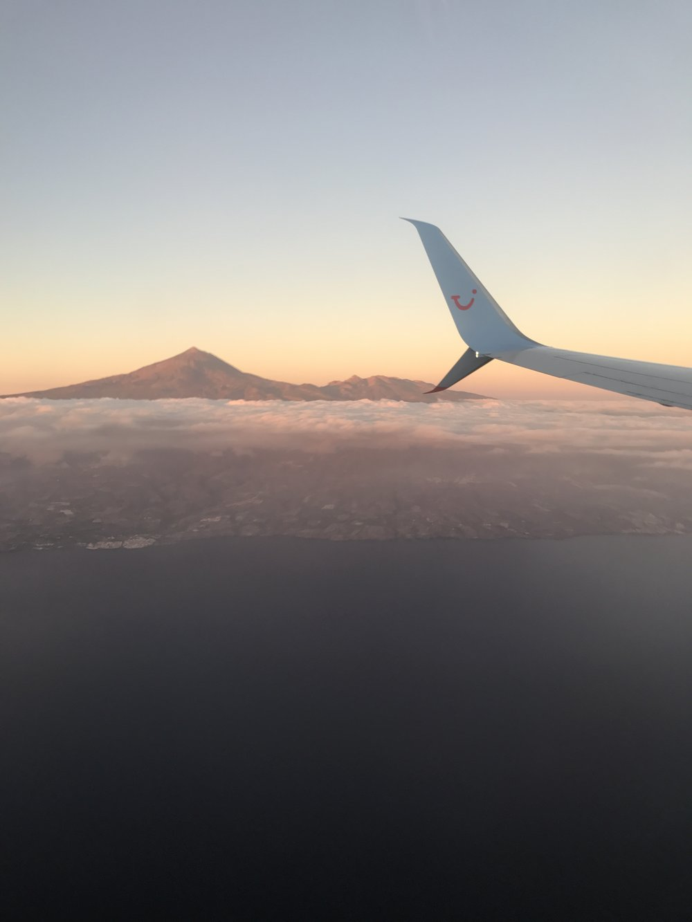Mount Teide standing proudly in the centre of Tenerife.