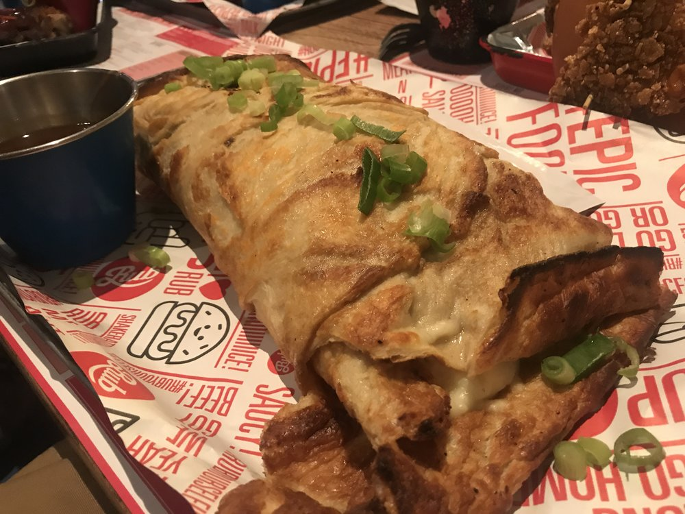 Yorkshire Pudding Burrito