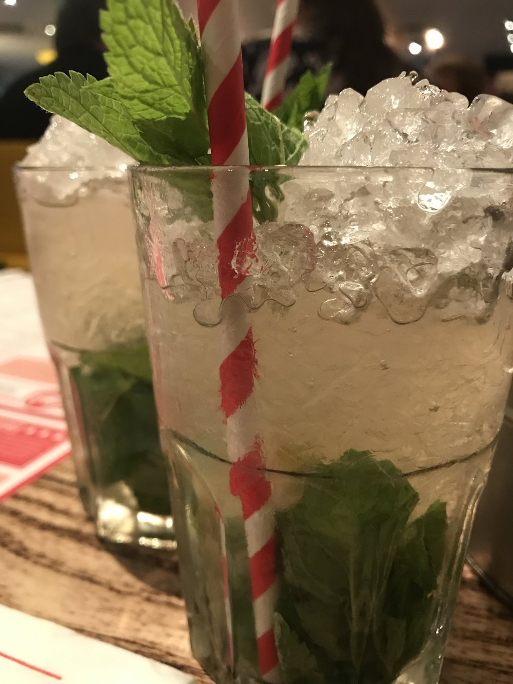 Buy one get one free on Mojito's is always a winner with me