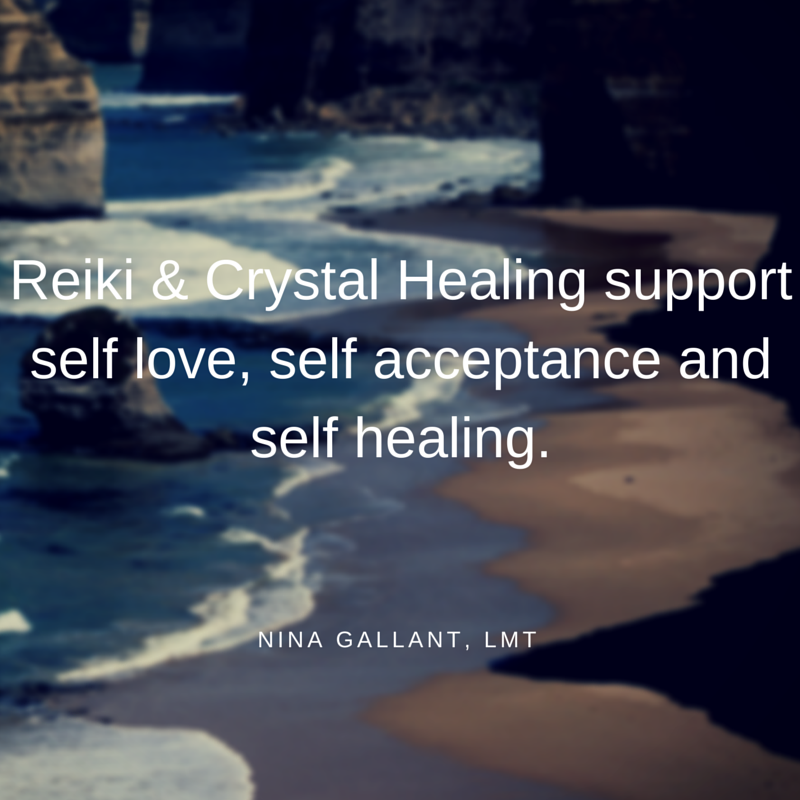 Reiki Crystal Healing Self Love Acceptance Healing