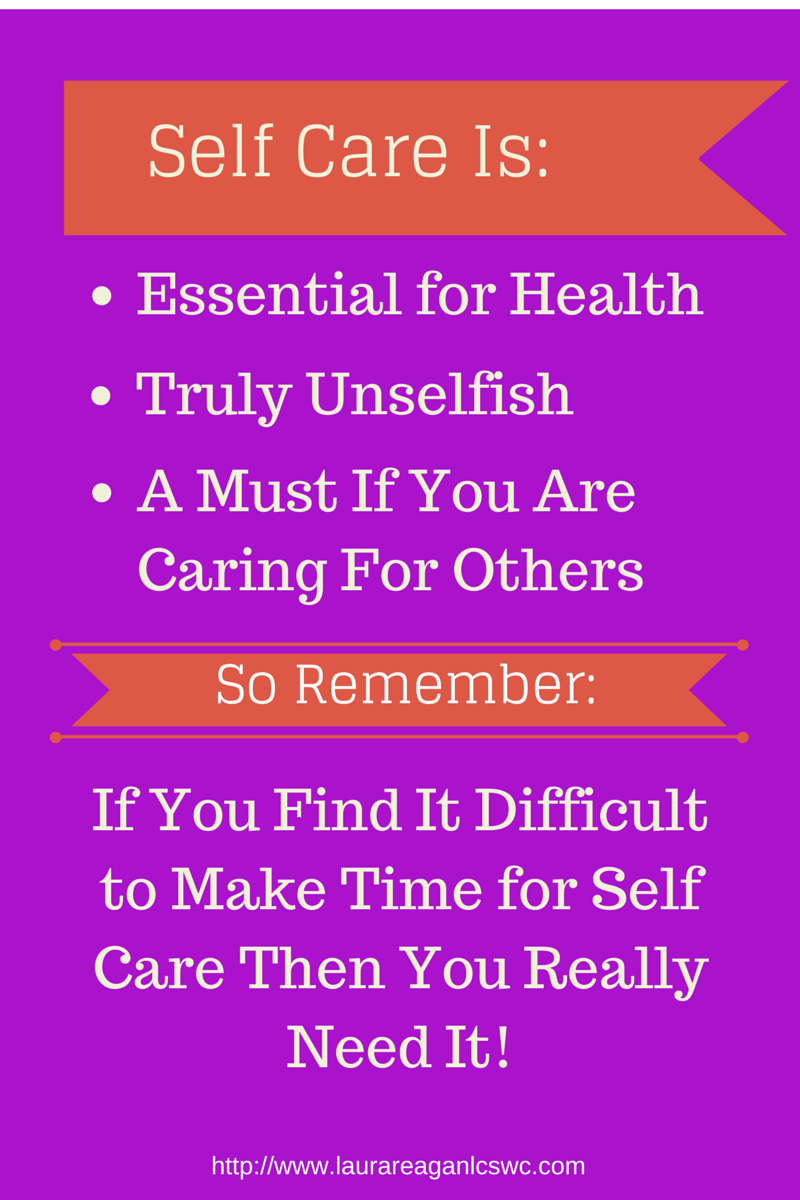 Self Care is Essential for Health